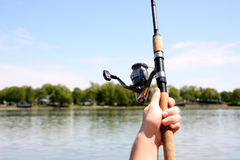 Fishing line Stock Images