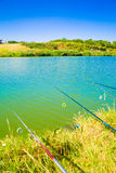 Fishing lines royalty free stock images