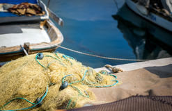 Fishing Lines Fishnets Royalty Free Stock Photography