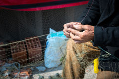 Fishing Lines Fishnets Royalty Free Stock Images