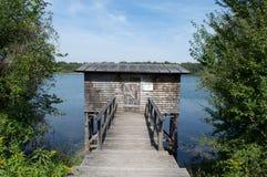 Fishing lodge Stock Photography