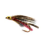 Fishing lure. With a rusty hook Stock Image