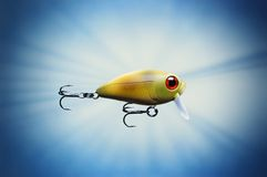 Fishing lure. Picture of a Fishing lure Stock Image