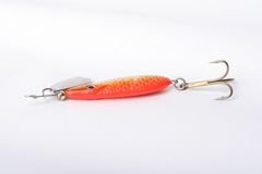 Fishing lure Stock Photo