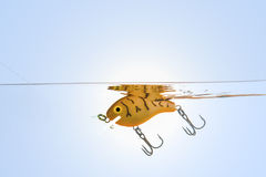 Fishing lure,bait,hooks Stock Photos