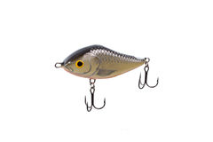 Fishing lure for catching predator isolated on white background Stock Photo