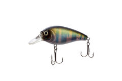 Fishing lure for catching predator isolated on white background Royalty Free Stock Photos