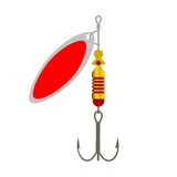 Fishing Lure colour Royalty Free Stock Photos