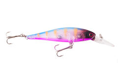 Fishing Lure Cranbaits Bass Hooks Stock Photography
