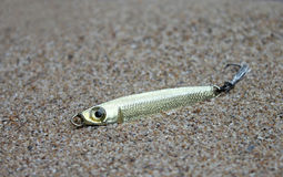 Fishing lure, handiwork Stock Photo