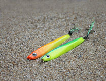 Fishing lure, handiwork Stock Image