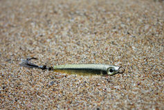 Fishing lure, handiwork Royalty Free Stock Images