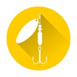 Fishing Lure icon Royalty Free Stock Photography