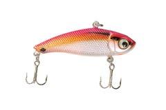 Fishing lure isolated on white background. Royalty Free Stock Image