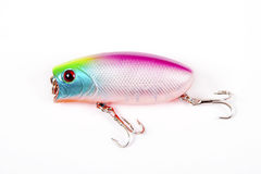 Fishing lure isolated on white. Stock Photography