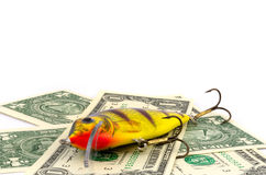 Fishing lure Royalty Free Stock Photo