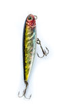 Fishing lure popper. Casting and spinning. Isolated Royalty Free Stock Images