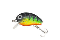 Fishing lure. With a sharp three hook Stock Image