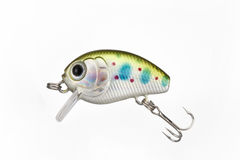 Fishing lure. With a sharp three hook Royalty Free Stock Photo