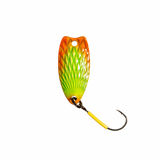 Fishing lure for trout fishing. High resolution photo Royalty Free Stock Photography