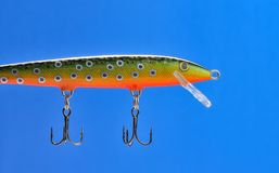 Fishing Lure (Wobbler) Royalty Free Stock Image