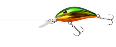 Fishing lure wobbler isolated Royalty Free Stock Photography