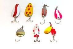 Fishing lures Stock Image