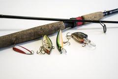 Fishing equipments  Stock Image