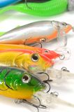 Fishing Lures (Wobblers) Royalty Free Stock Images