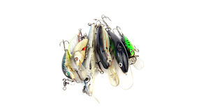Fishing Lures (Wobblers) Stock Photography