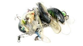 Fishing Lures (Wobblers) Royalty Free Stock Photos