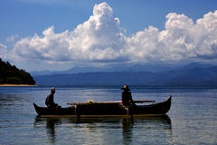 fishing in madagascar Royalty Free Stock Photo