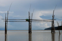 Fishing - Malaysia Royalty Free Stock Image