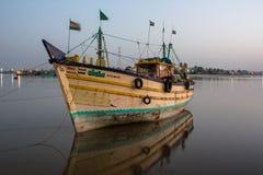 Fishing Motor Boat Royalty Free Stock Photo