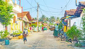The fishing neighborhood Stock Photography