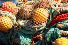 Fishing Net. At fishermans terminal royalty free stock photo