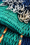 Fishing Net. Detail of Commercial Fishing Net Stock Image