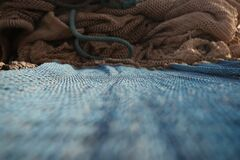 fishing net 2 Royalty Free Stock Photo