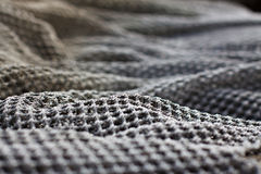 Fishing net. Detail of a fishing net royalty free stock photos