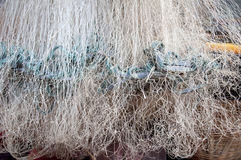 Fishing net. The photo of Fishing net stock images