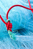 Fishing net. Commercial Fishing net close up,Thailand Royalty Free Stock Photos