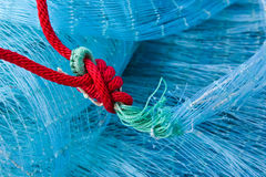 Fishing net. Commercial Fishing net close up,Thailand Stock Image