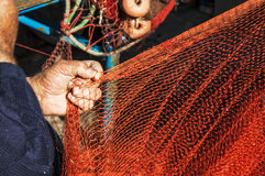 Fishing net Royalty Free Stock Photo