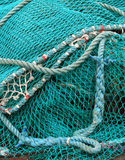 Fishing Net Stock Photo