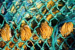 Fishing Net. Photo of a fishing net stock photo