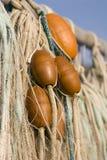 Fishing net. At travemuende Royalty Free Stock Photo