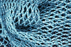 Fishing net. Background of a fishing net Stock Photography