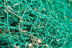 Fishing net background Stock Photography