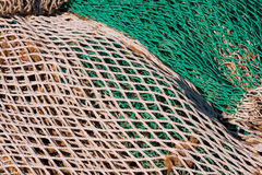 Fishing Net Background Stock Images
