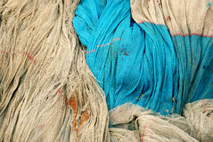 Fishing net background Royalty Free Stock Photography